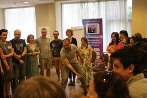 """Обучение """"Млади граждани на света:  младежката сфера и глобалните въпроси"""""""